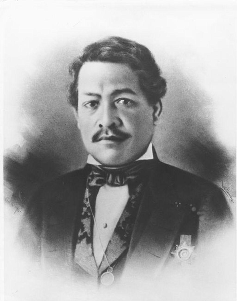 Royal Portrait, Hawaiian State Archives, ca 1850