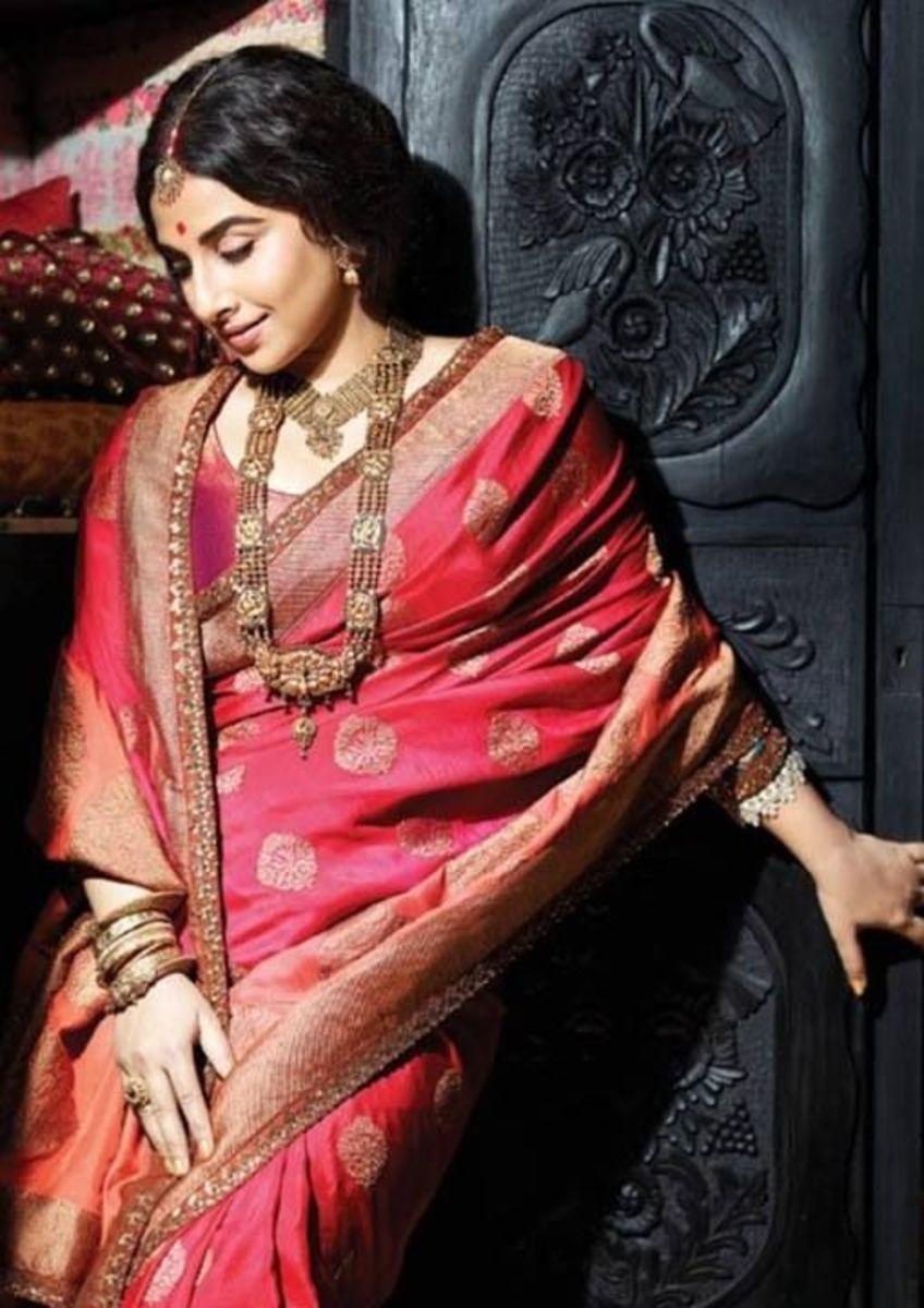 Vidya Balan in Sabyasachi bridal couture