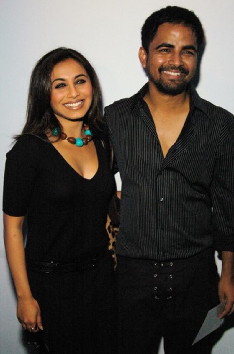 Sabyasachi with his muse Rani Mukherjee.
