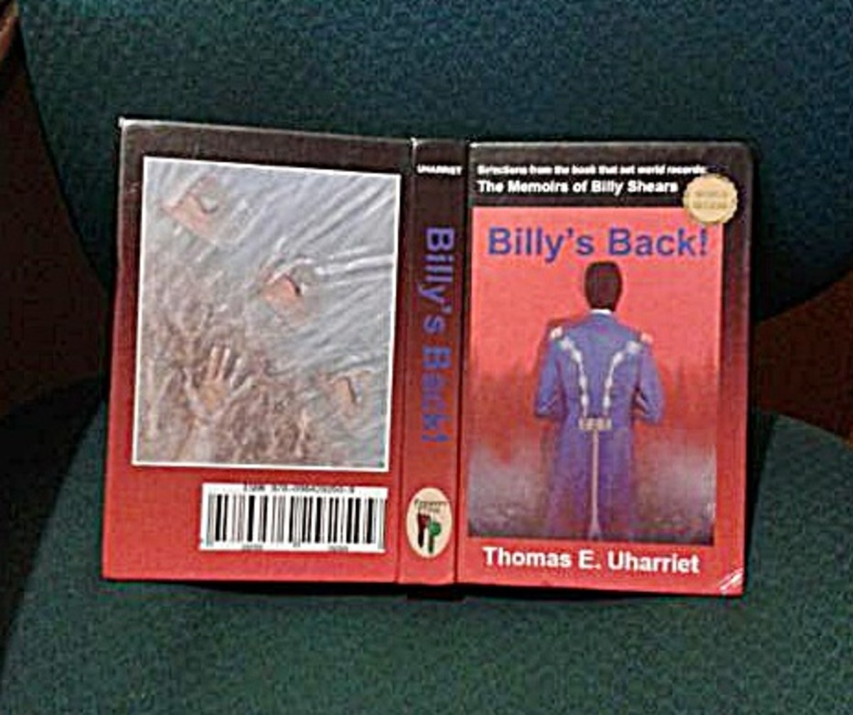 """""""Billy's Back!"""" front and back."""