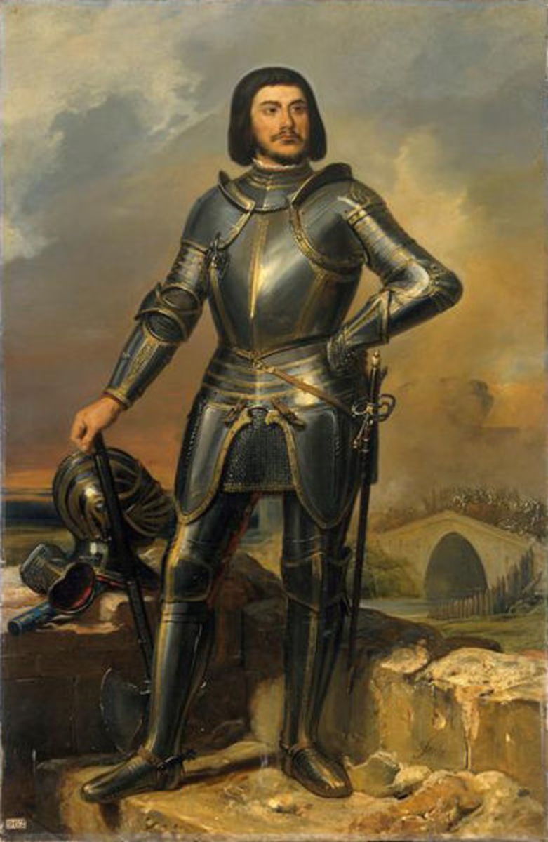 Portrait of Gilles de Rais