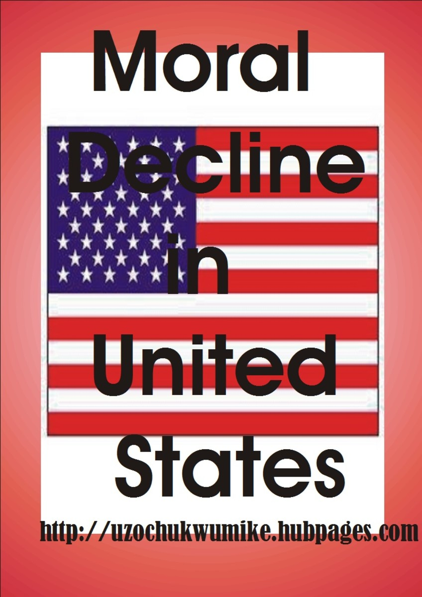 Moral Decline in United States