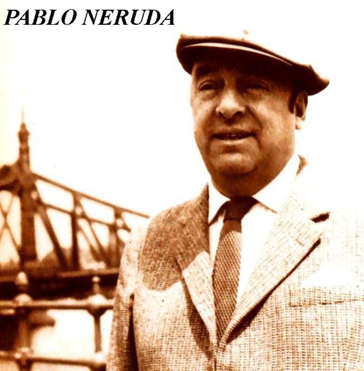 Pablo Neruda: A Great Modern Lyrical Poet