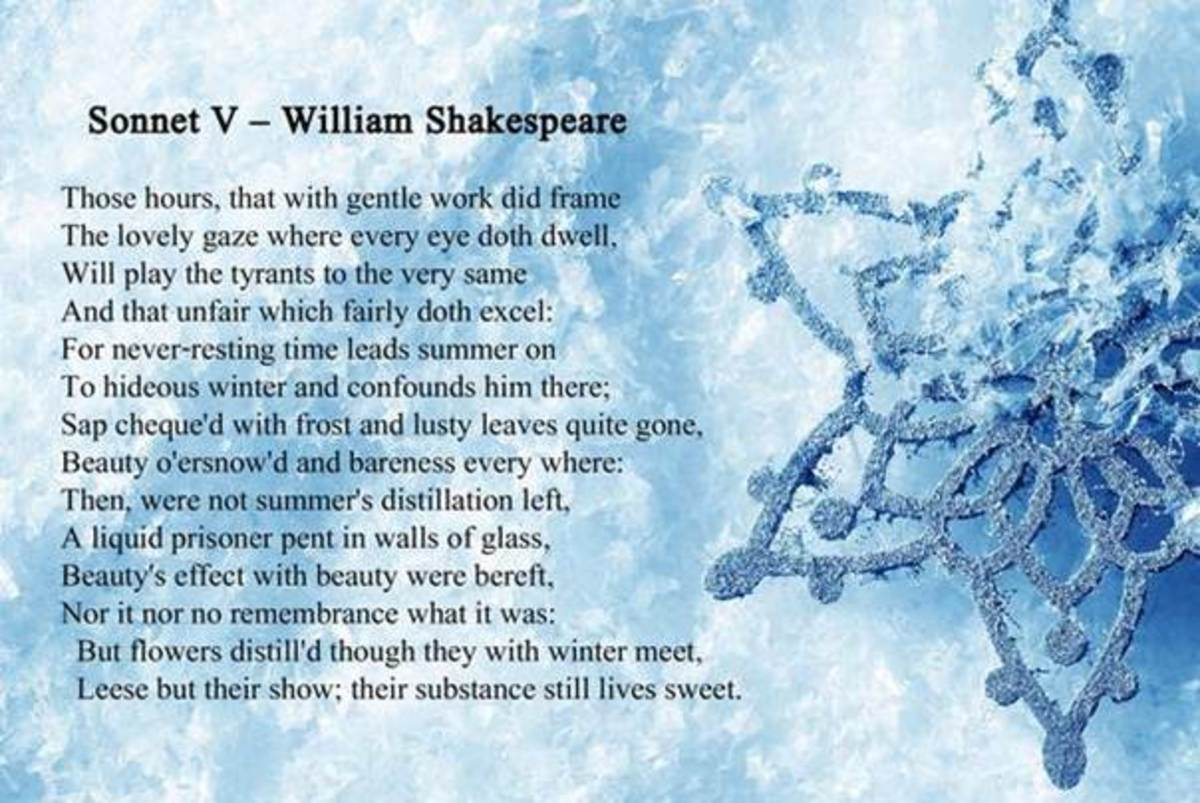 A Love Lyric by William Shakespeare