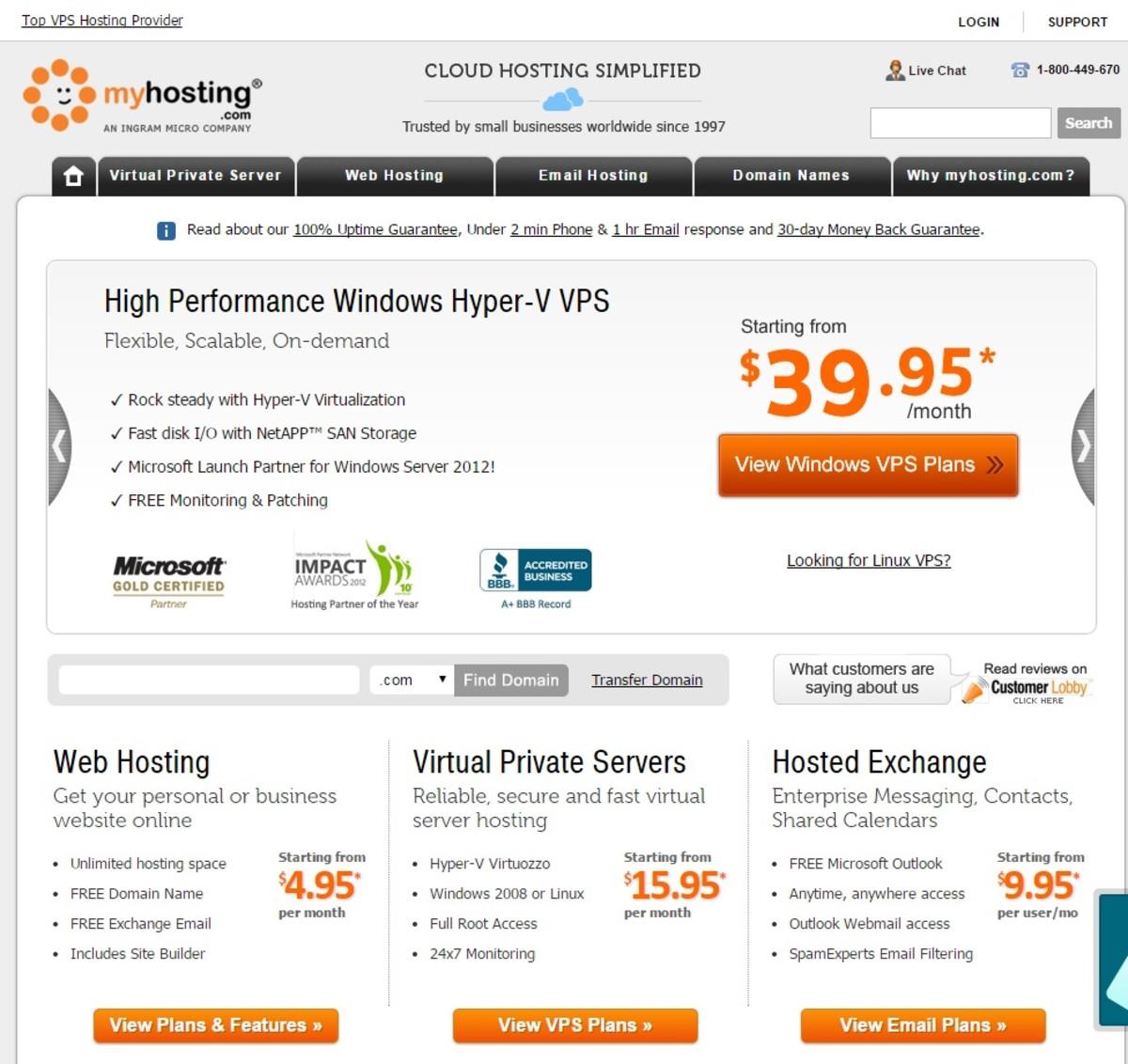 myhosting-website