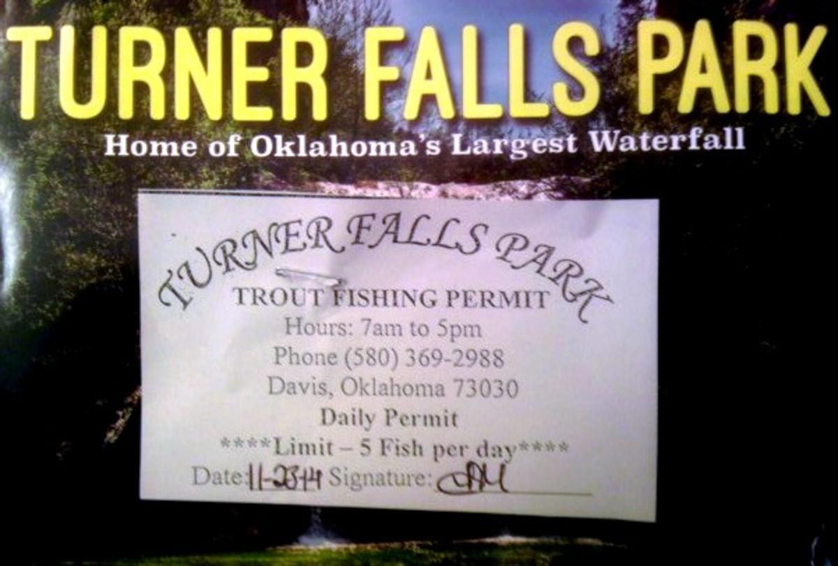 Turner Falls Park - Trout Fishing