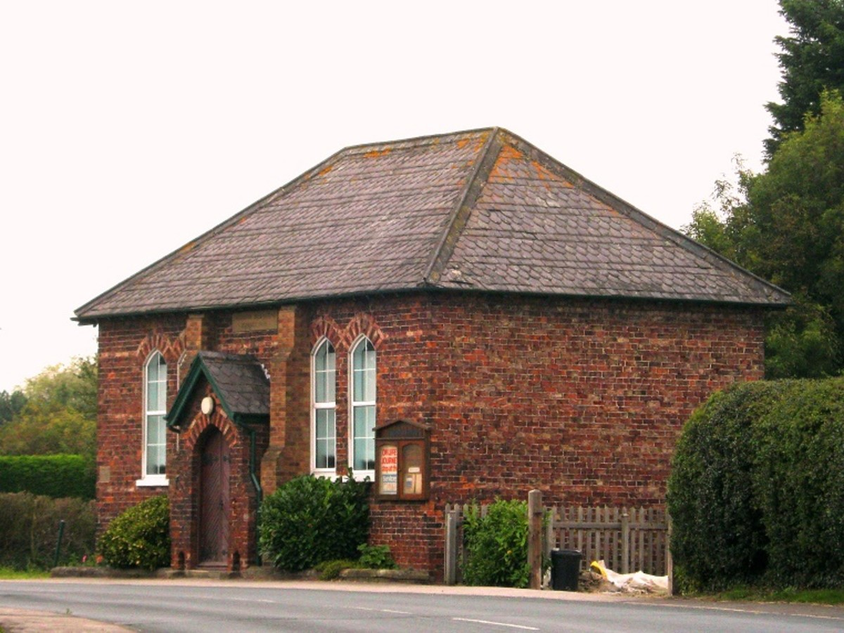 Wesleyan chapel of 1876, now the Methodist church Skipwith Yorkshire