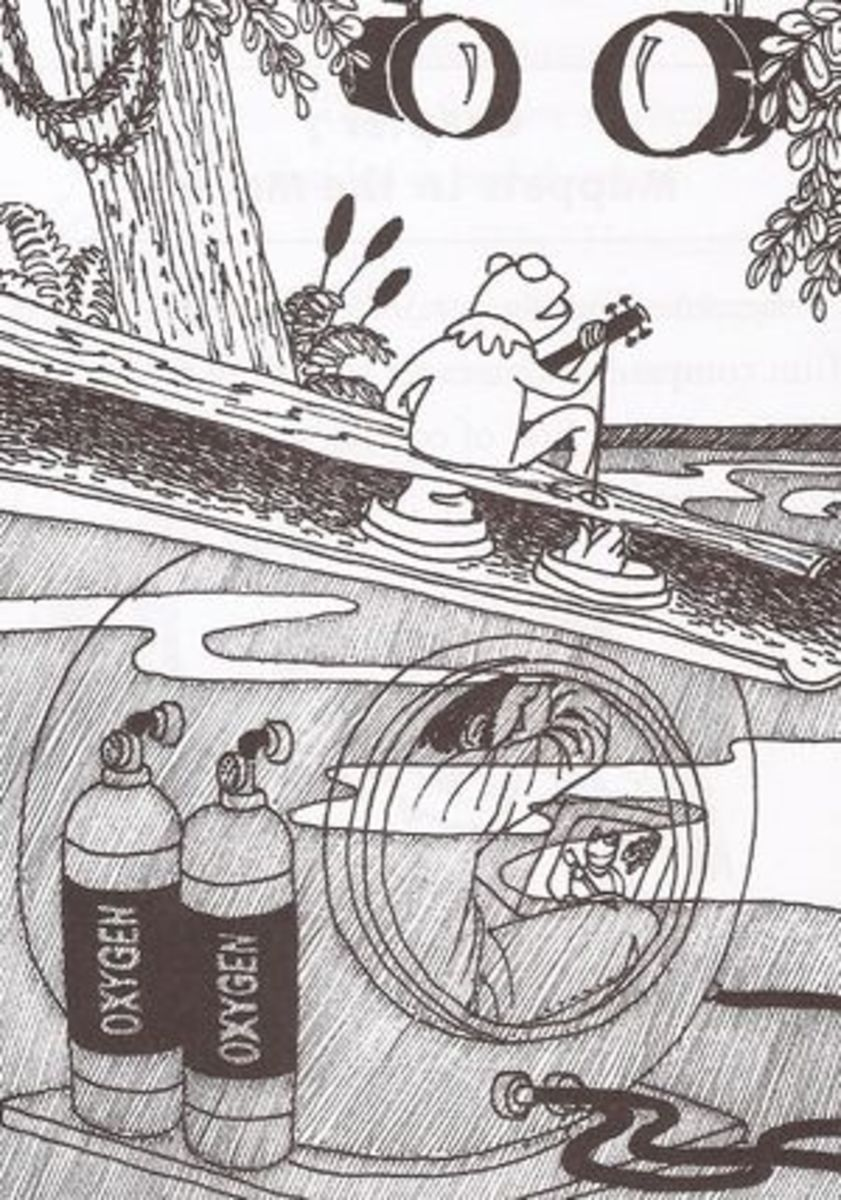 """A sketch of the tank used for """"The Rainbow Connection"""" number from """"The Muppet Movie."""""""