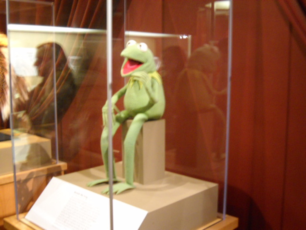 Kermit at the Smithsonian in Washington, D.C.