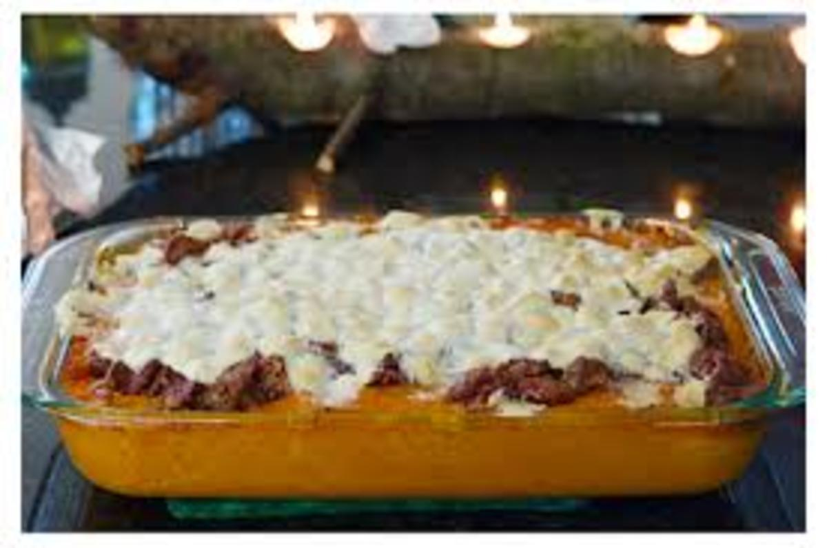 baked-sweet-potato-casserole-with-marshmallows-for-two