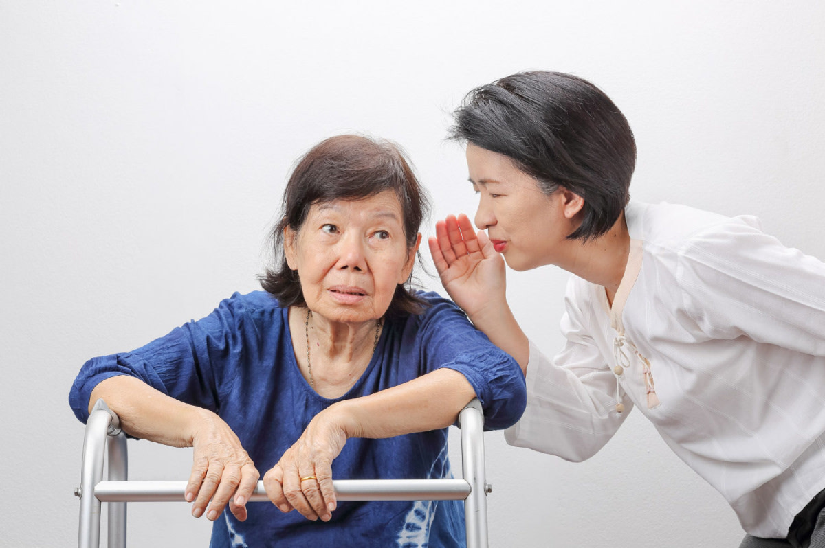 Hearing loss is very common in older adults