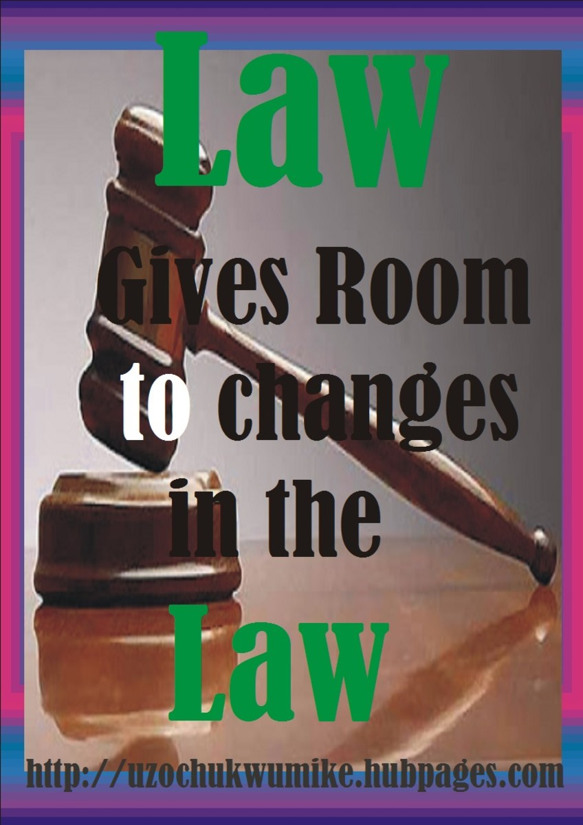 Law and change
