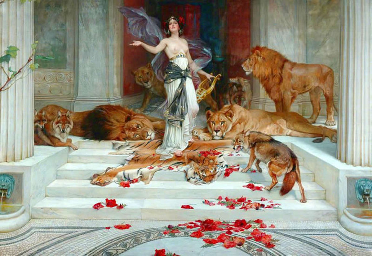 Wright Barker (British Painter, 1864-1941) PD-life-70