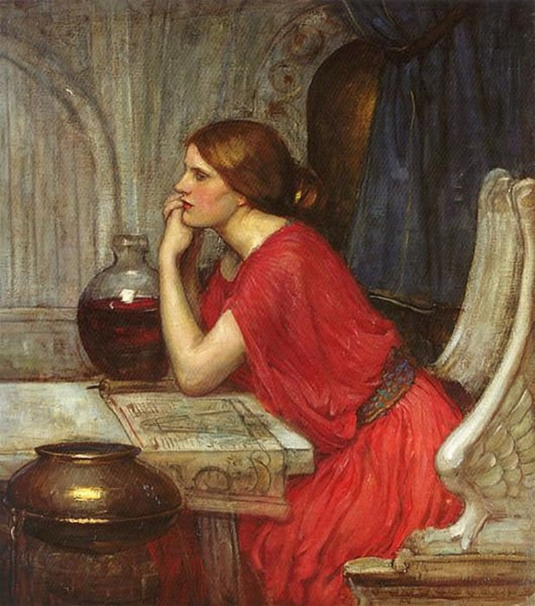 The Sorceress Circe in Greek Mythology