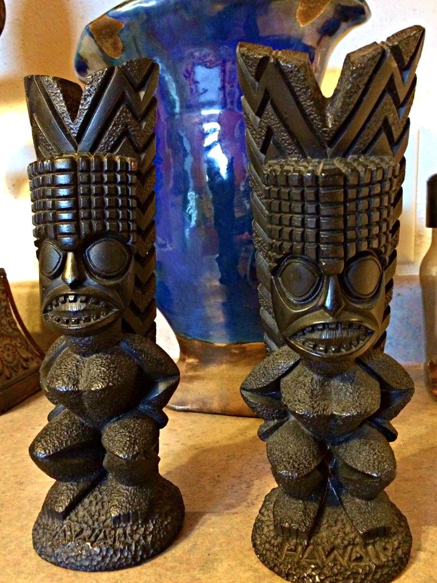 Kanaloa was one of the four major gods of ancient Hawaii. Kanaloa was the god of enteral hope. These Tiki's often serve to mark the boundaries of sacred or significant sites.