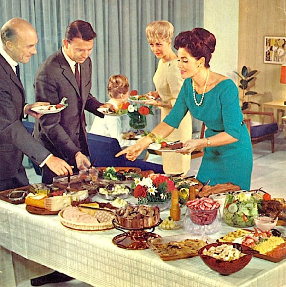 Maureen's Story (Part Two): Life is like a Buffet Supper