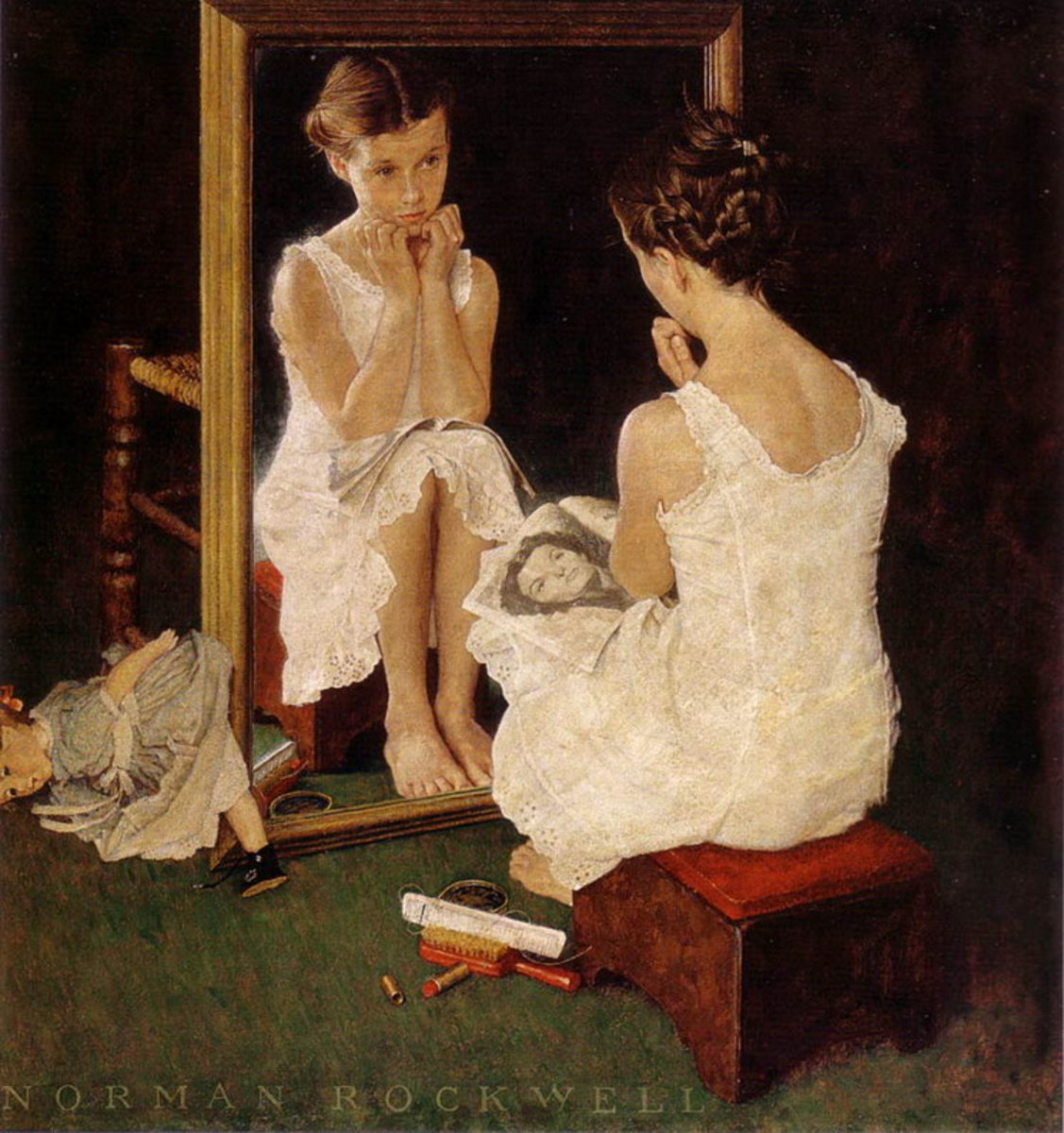 Norman Rockwell's Mirror
