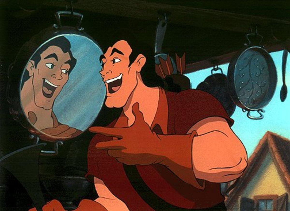 Gaston was narcissistic
