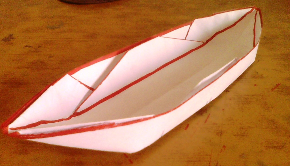 Make a Paper Boat that Floats - 11 Steps