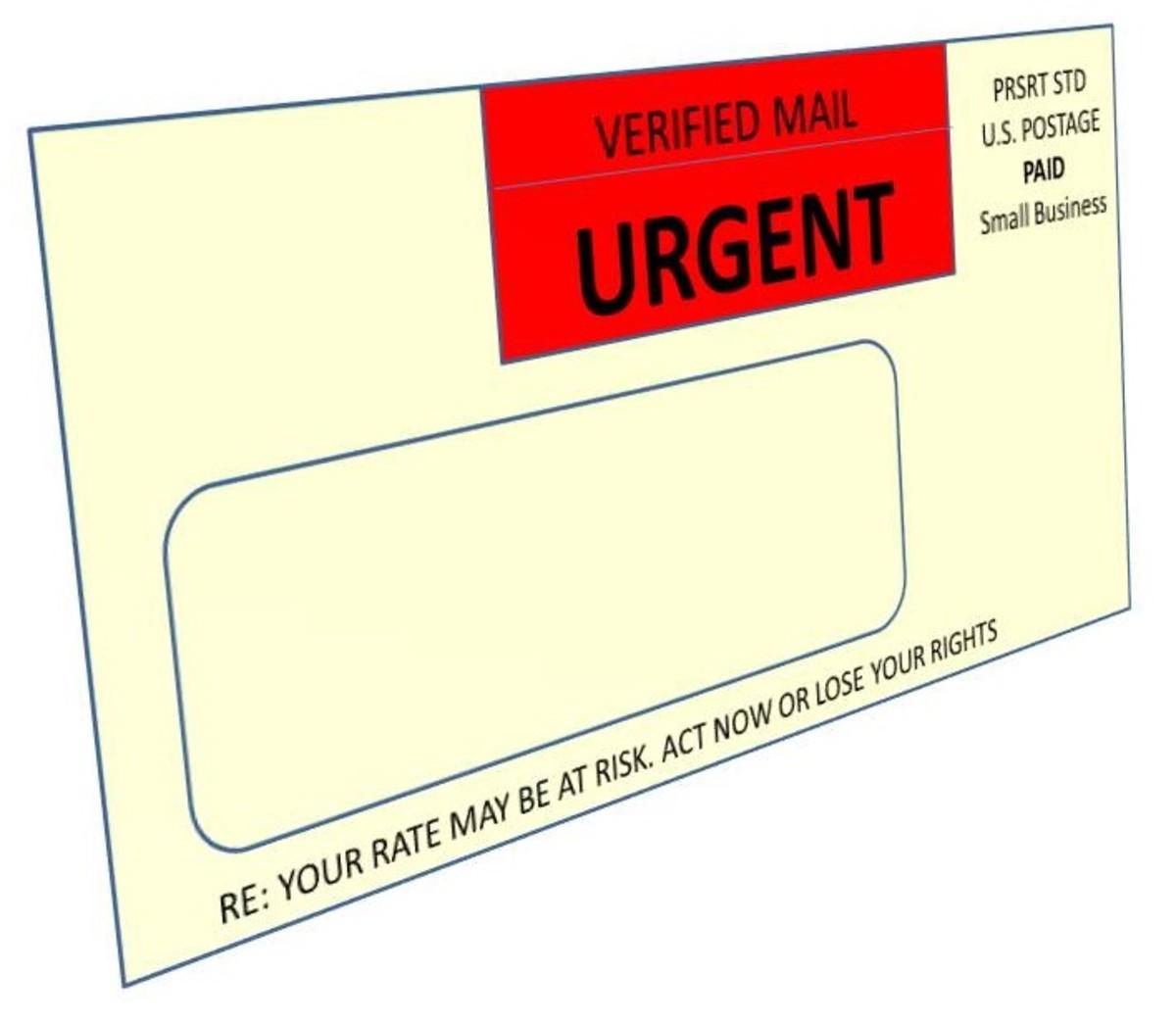 Envelope Marketing Gimmick