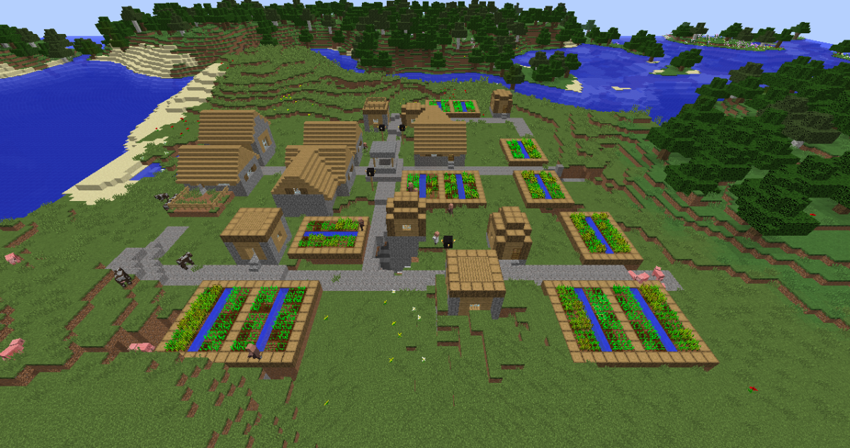 Minecraft NPC village seed list 1.8.3 (videos)