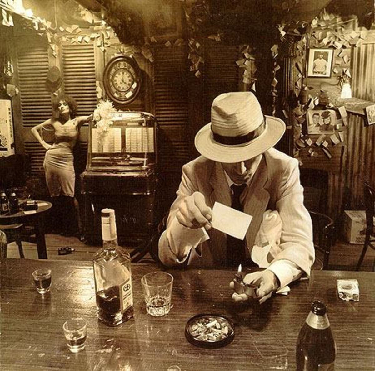 "Led Zeppelin ""In Through the Out Door"" BACK COVER F"