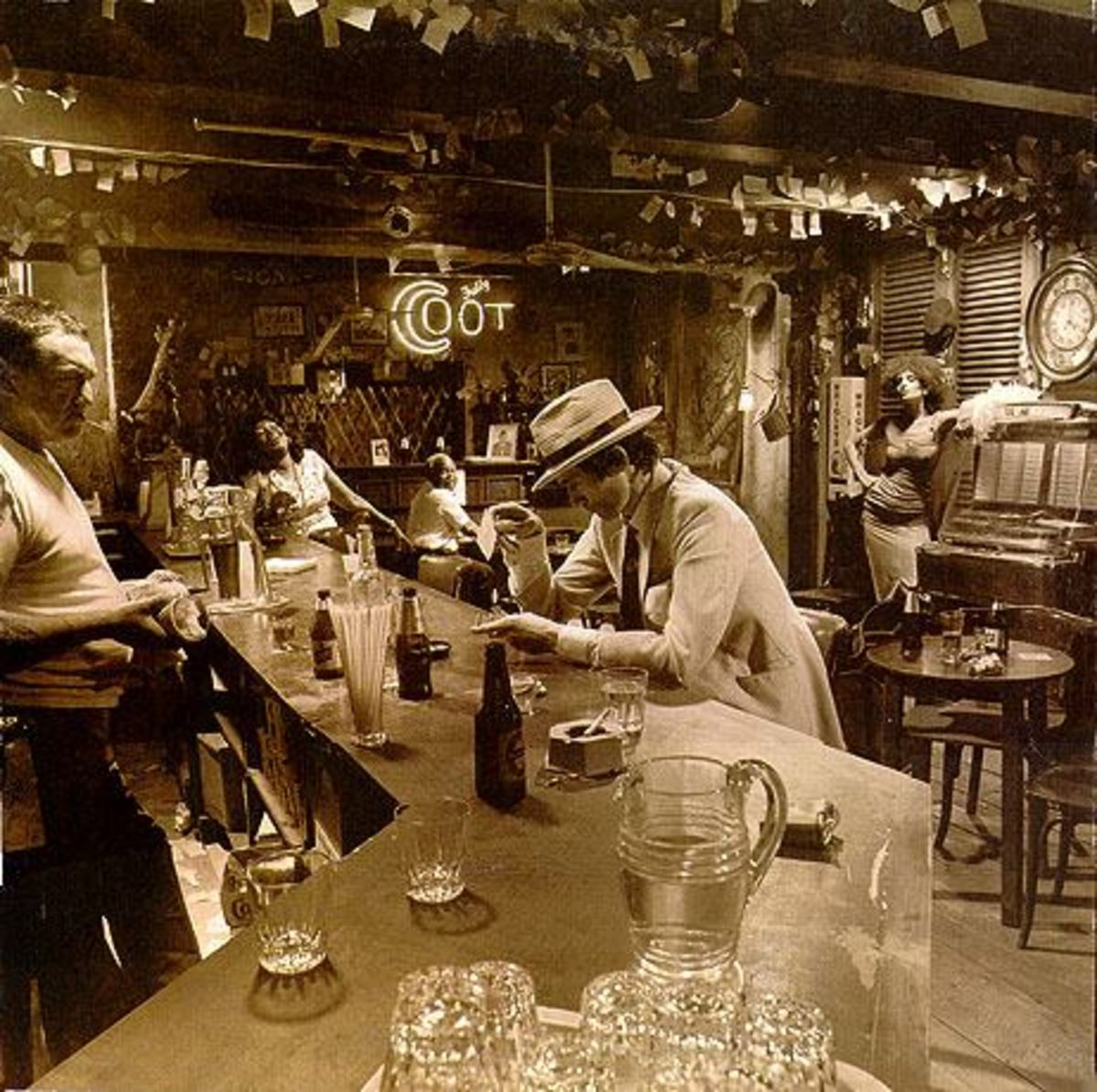 "Led Zeppelin ""In Through the Out Door"" BACK COVER E"