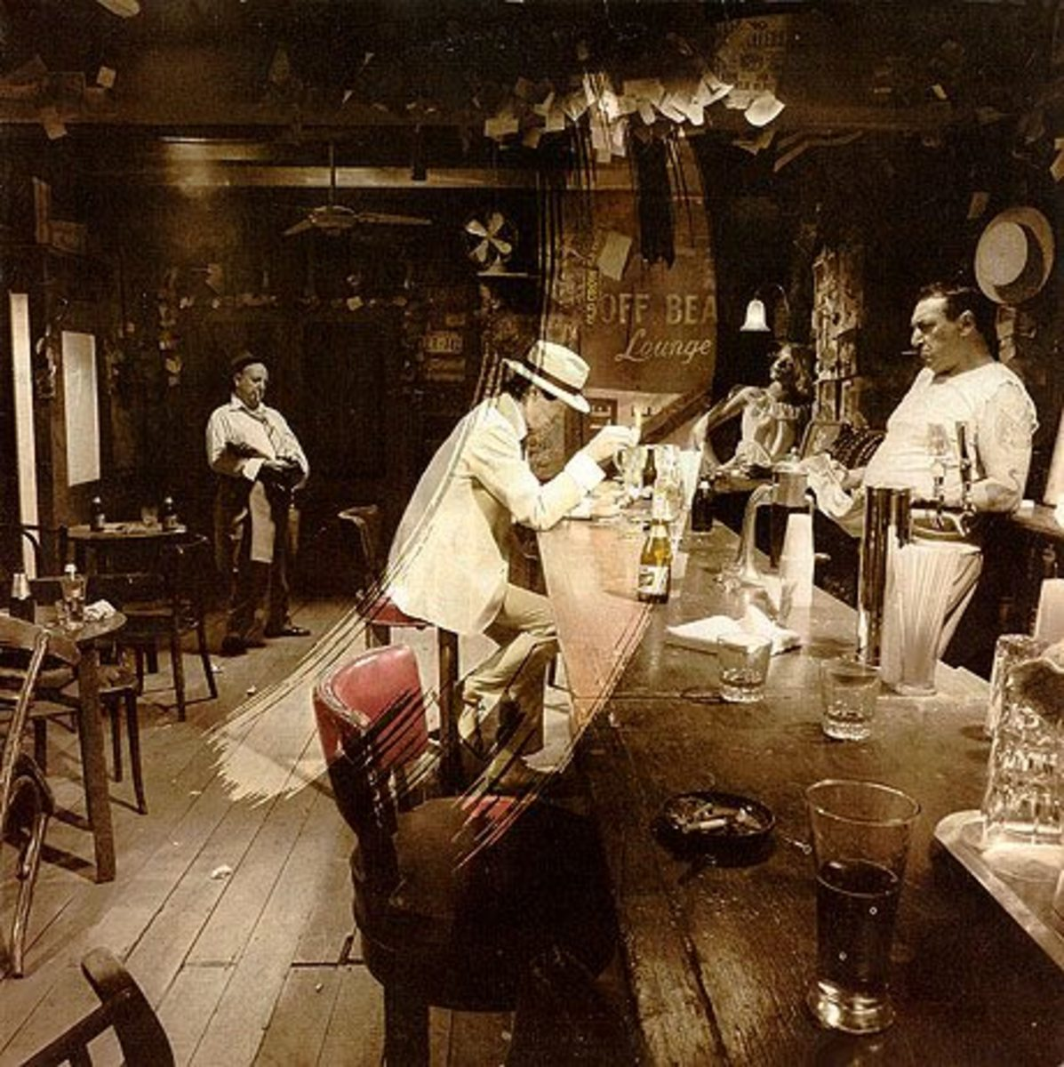 """Led Zeppelin """"In Through the Out Door"""" FRONT COVER D"""