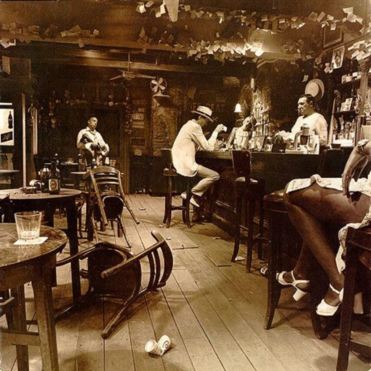 "Led Zeppelin ""In Through the Out Door"" BACK COVER B"