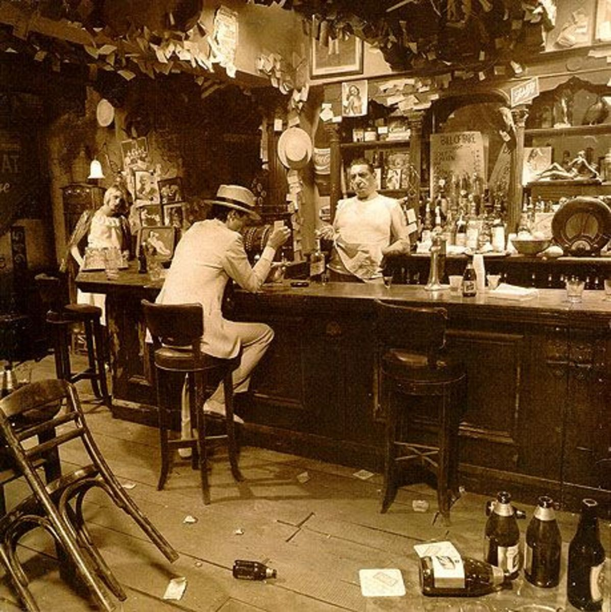 "Led Zeppelin ""In Through the Out Door"" BACK COVER C"