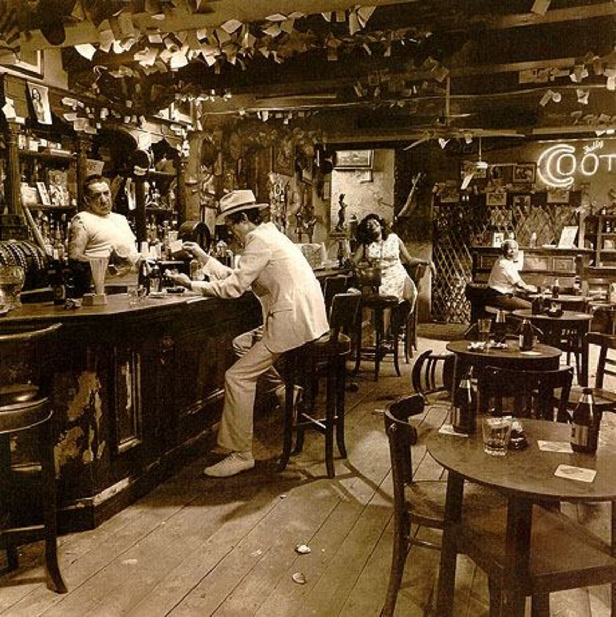 "Led Zeppelin ""In Through the Out Door"" BACK COVER D"