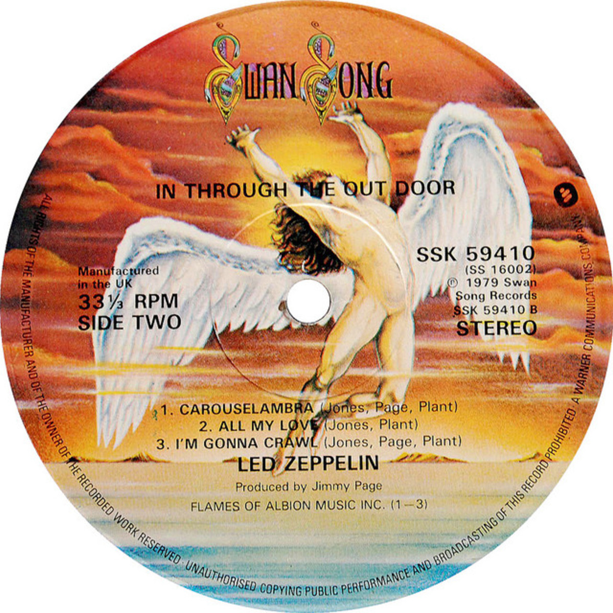 Swan Song Record Label