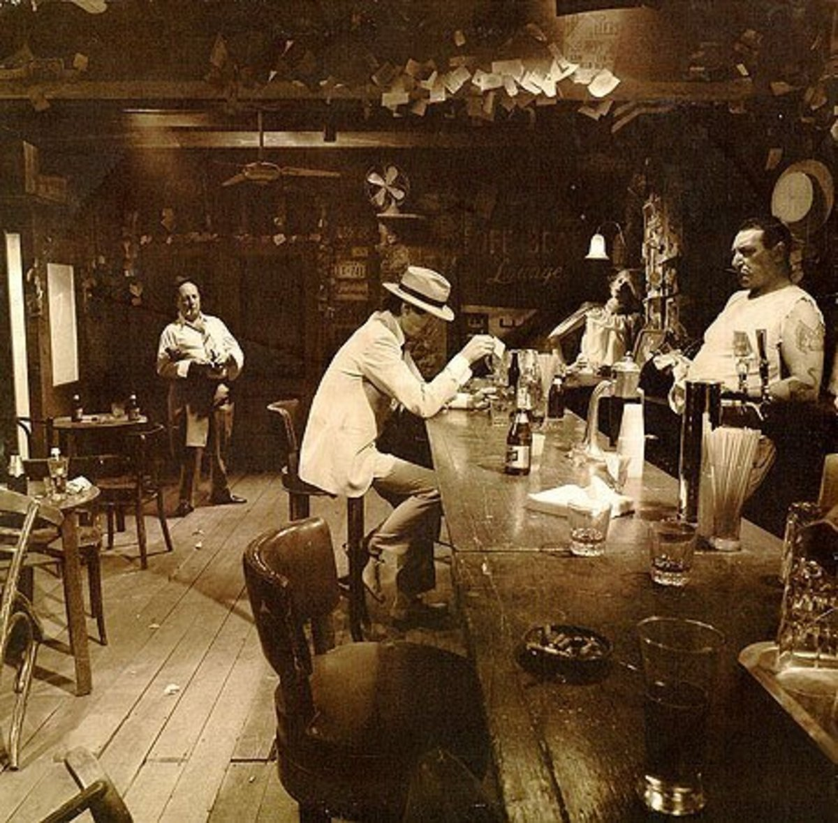 "Led Zeppelin ""In Through the Out Door"" BACK COVER A"