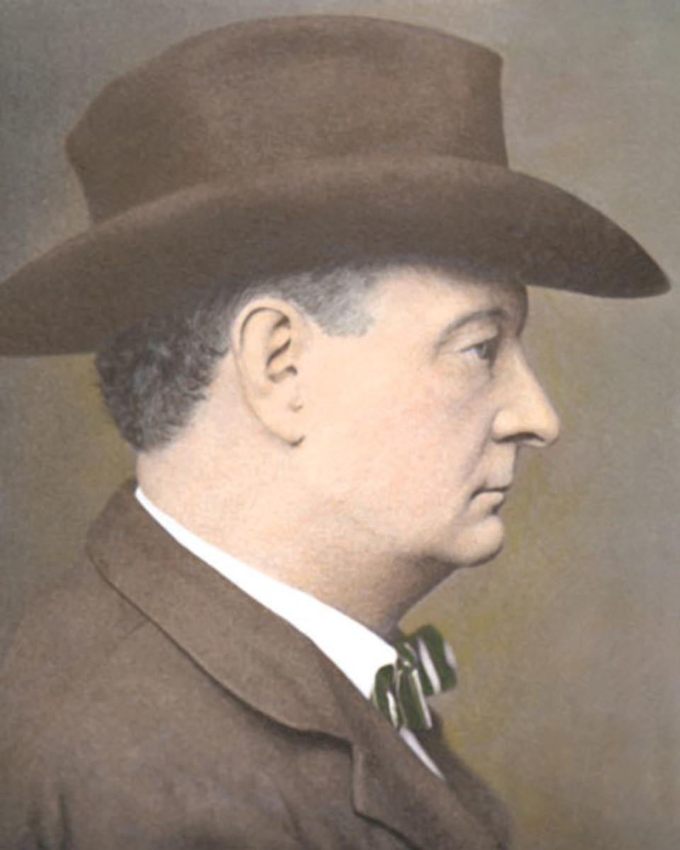 Cole Younger in later years.