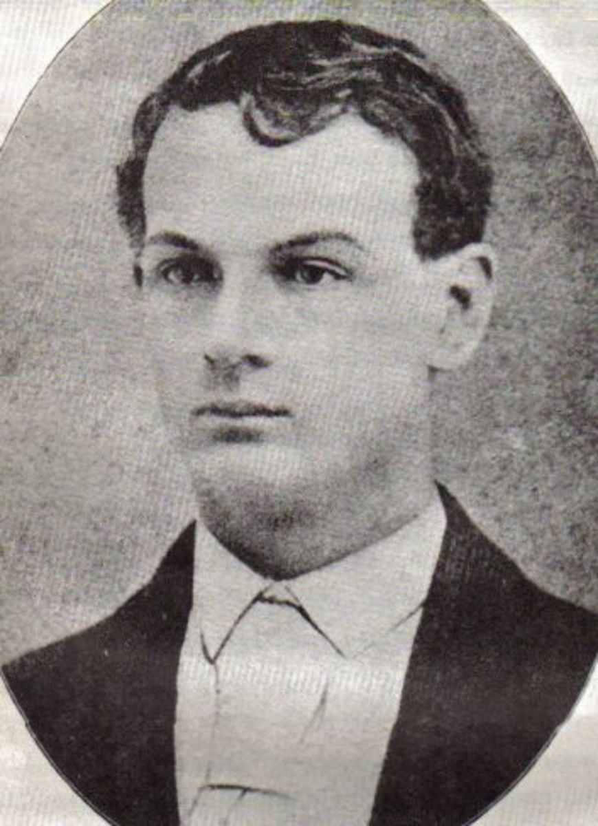 A young John Younger.