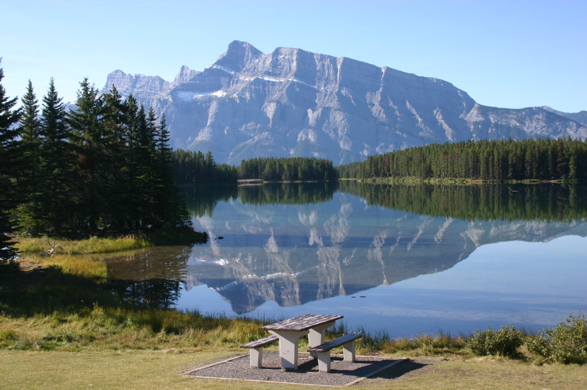 The perfect camping site is where all the family is