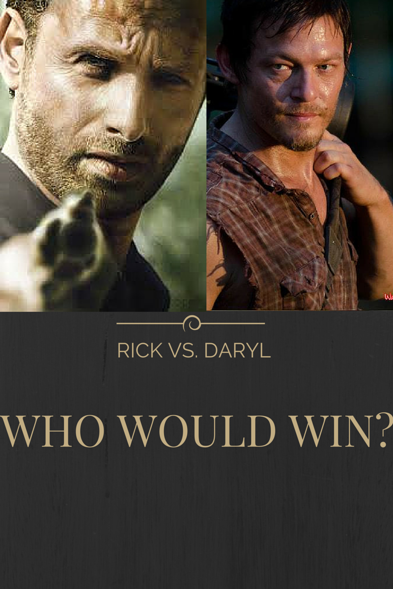 If it came down to a battle between these Rick and Daryl, who would win?