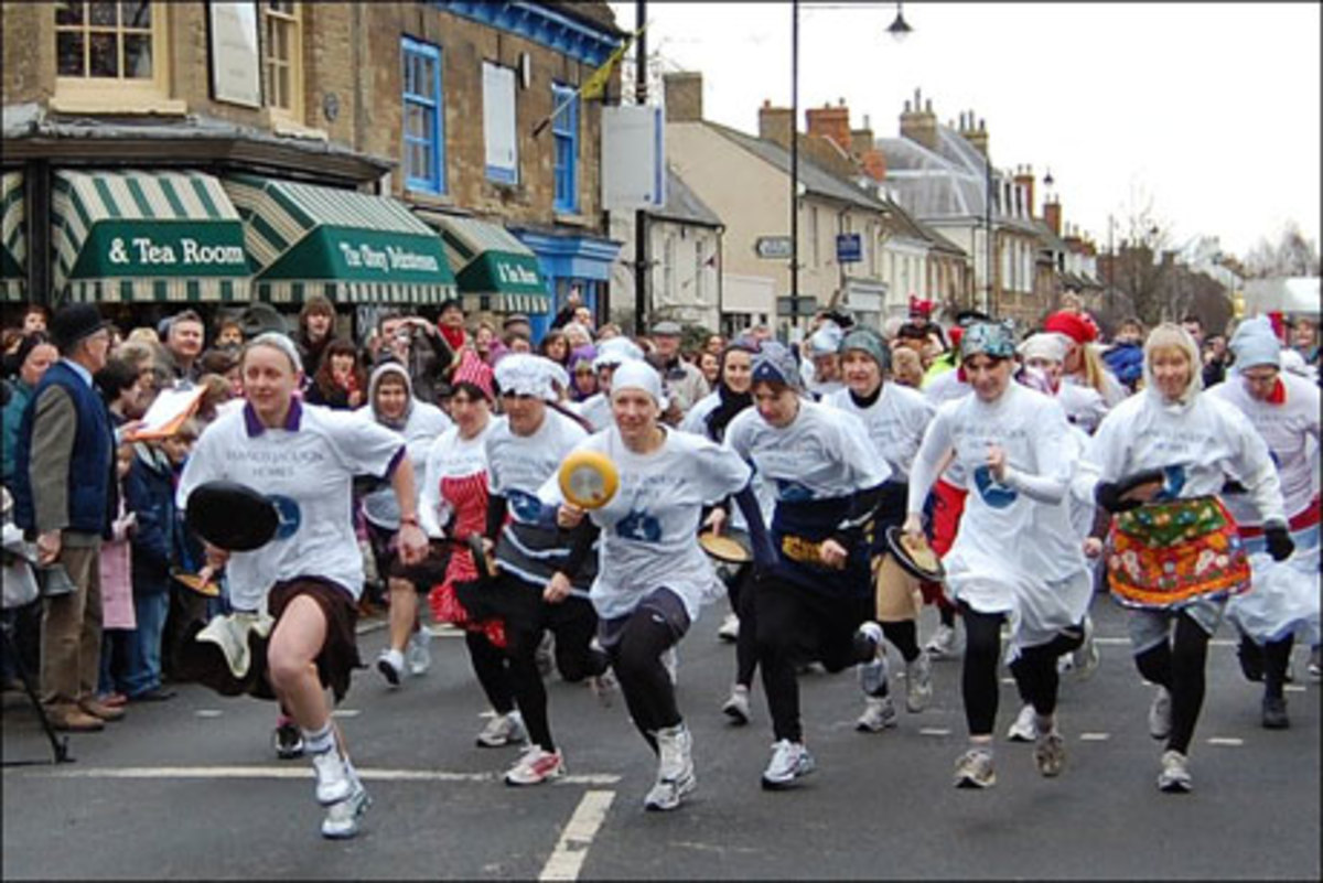The Olney Pancake Race