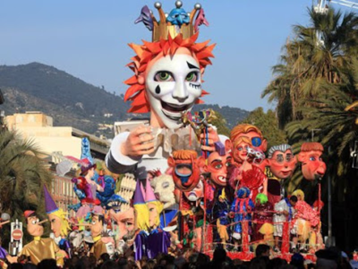 The Carnival at Nice, France