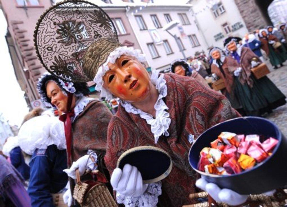 A Fastnachtsdienstag Parade in Germany
