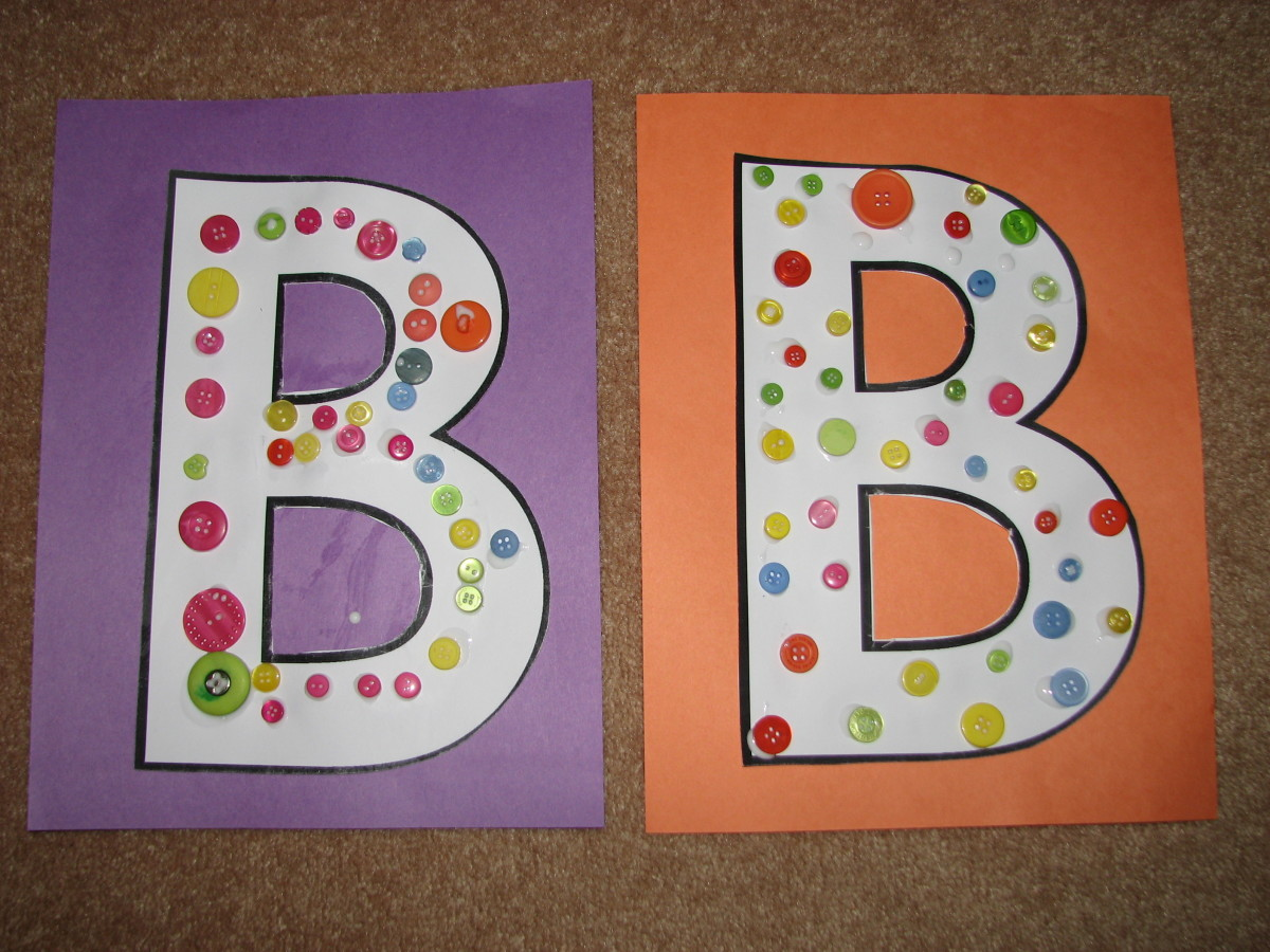 letter b activities and more for kids hubpages. Black Bedroom Furniture Sets. Home Design Ideas