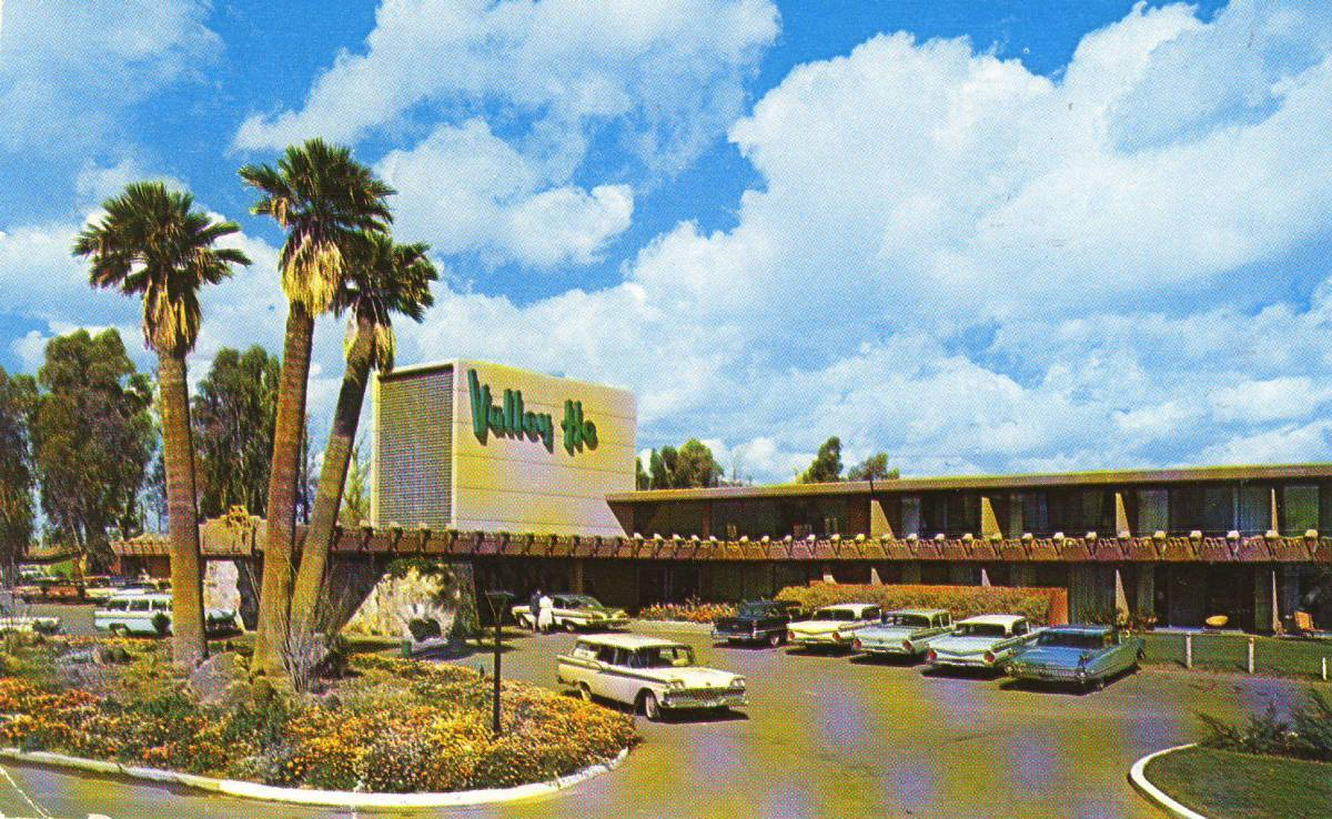 The Historic Hotel Valley Ho a Mid-Century Trendy Hot Spot in Scottsdale Arizona