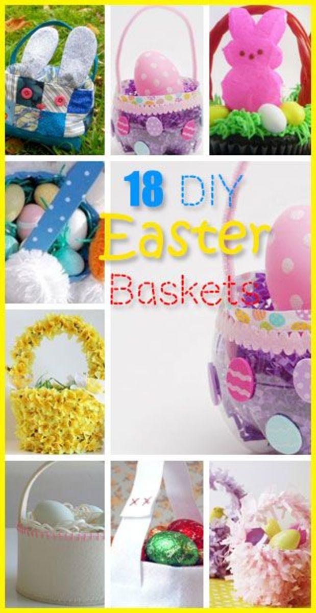 Easy DIY Easter Basket Ideas for Kids