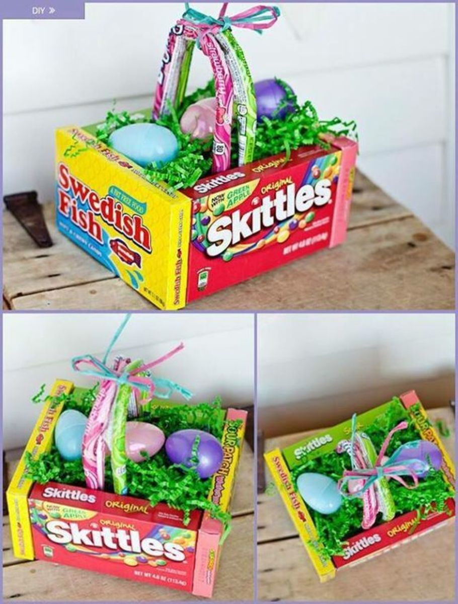 Edible | Easy DIY Easter Basket Ideas for Kids