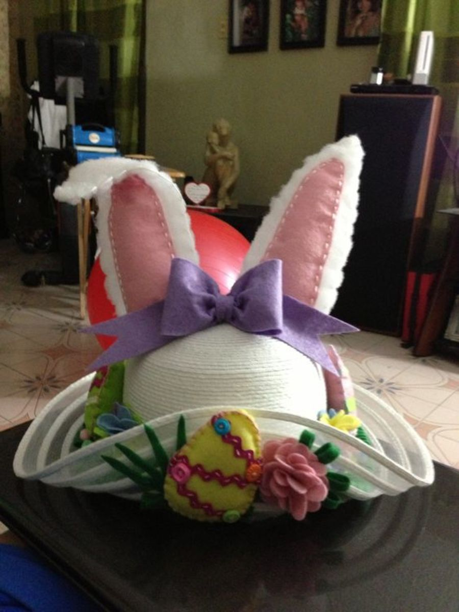 Easter Hat | Easy DIY Easter Basket Ideas for Kids
