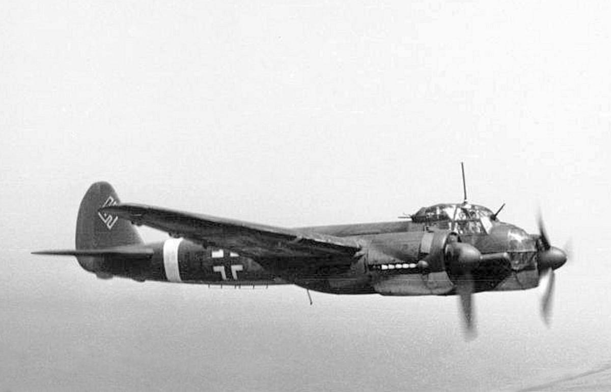 A Ju-88 damaged the HMS Barham.