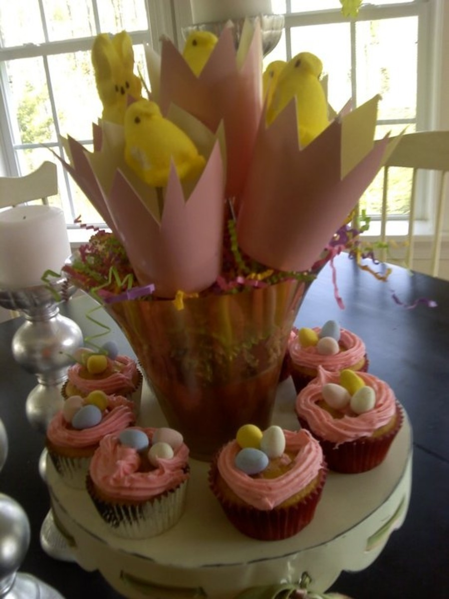 Click Pic for 25 Easy Easter Cupcake Recipes for Kids to Make   Easy Easter Treats for School Parties