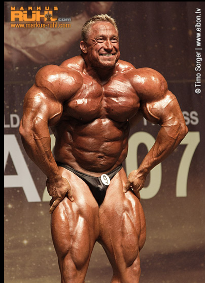 Markus Ruhl's Monster Boulder Shoulder Workout