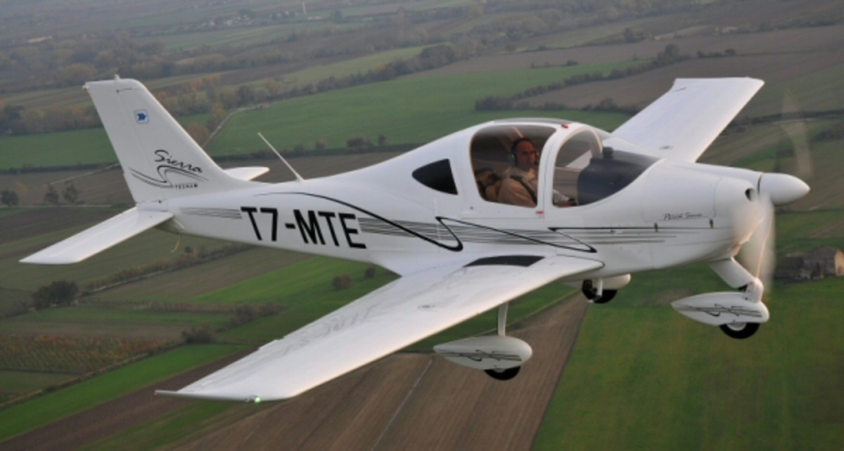 Tecnam P2002 Sierra is a two seat, low-wing, light aircraft built by Tecnam, constructed from aluminium and powered by a single Rotax 912 S2 engine.