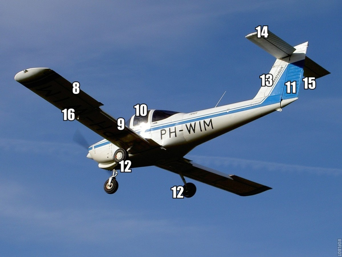 A guide to some basic components of light aircraft 2